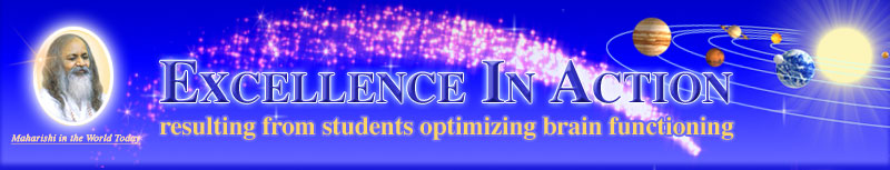 Excellence in Action resulting from students optimizing brain functioning